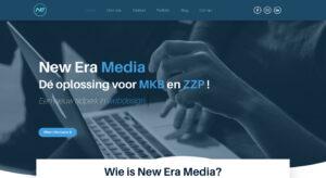 Zakelijke website laten bouwen New Era Media